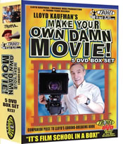 make your own damn movie 5 disc box set